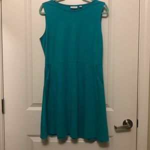 Teal Cotton Dress